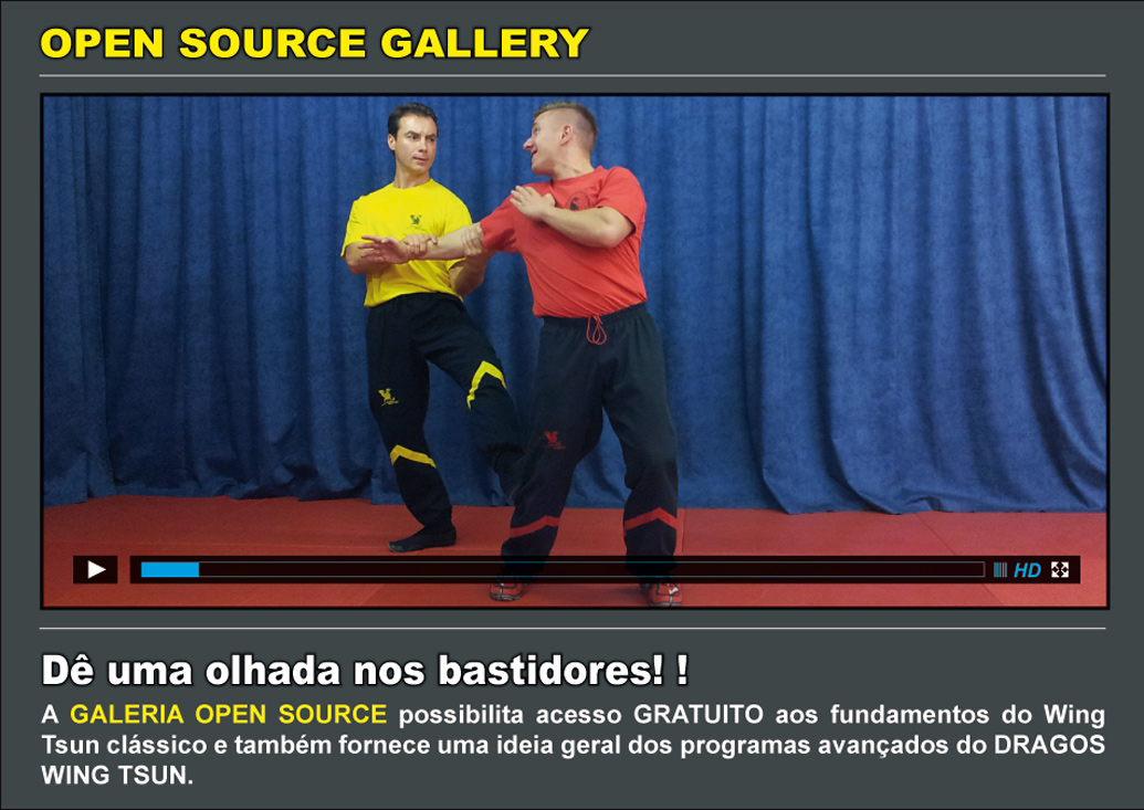 Get FREE Wing Tsun Lessons - join our Open Source Gallery